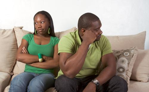 black-couple-argument
