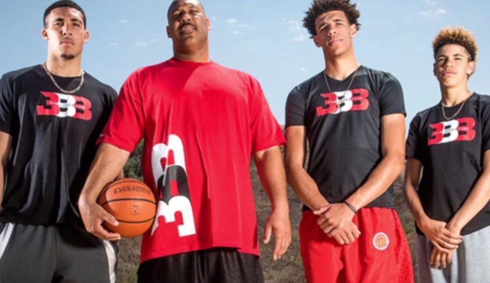 black kids playing basketball