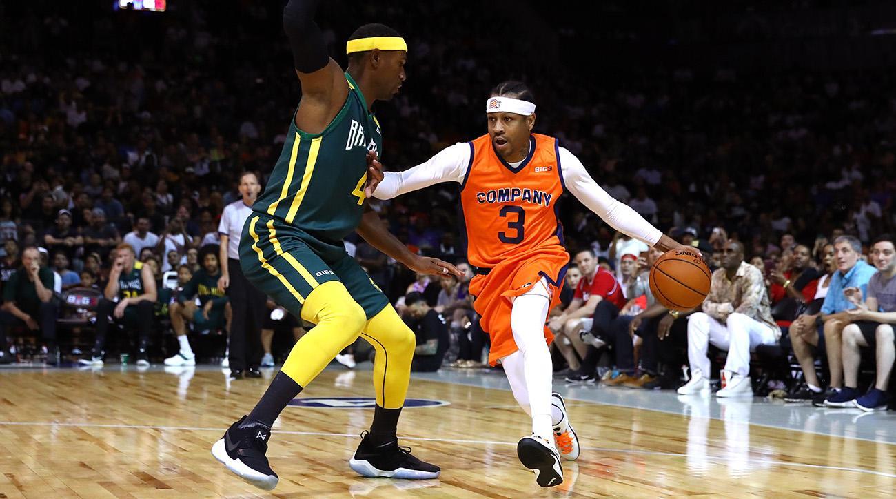 Allen Iverson né le 7 juin 1975 à Hampton en Virginie est un joueur de basketball américain Il évolue essentiellement au poste darrière en NBA durant sa
