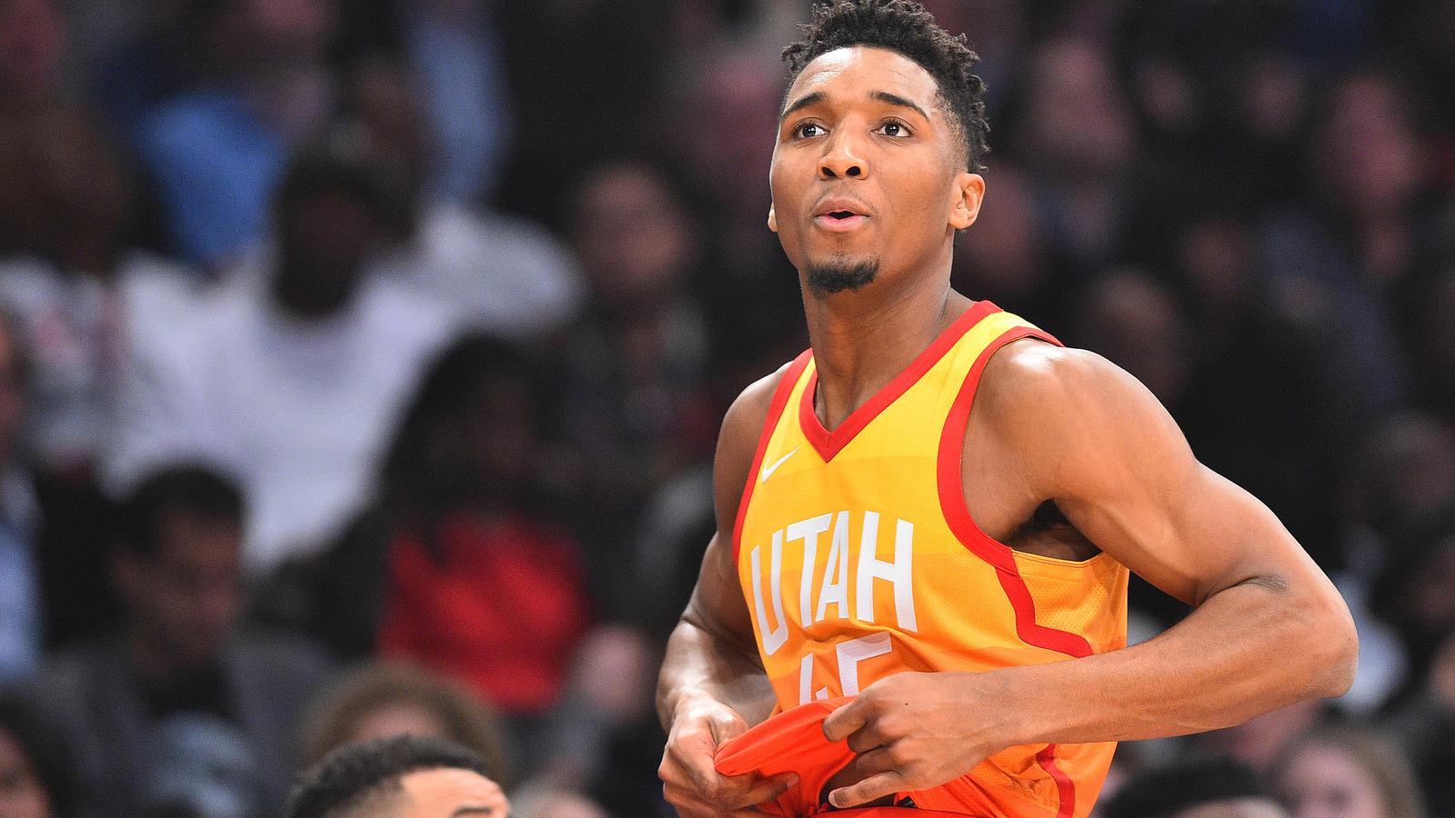Utah Jazz Rookie Sensation Donovan Mitchell Stars In New