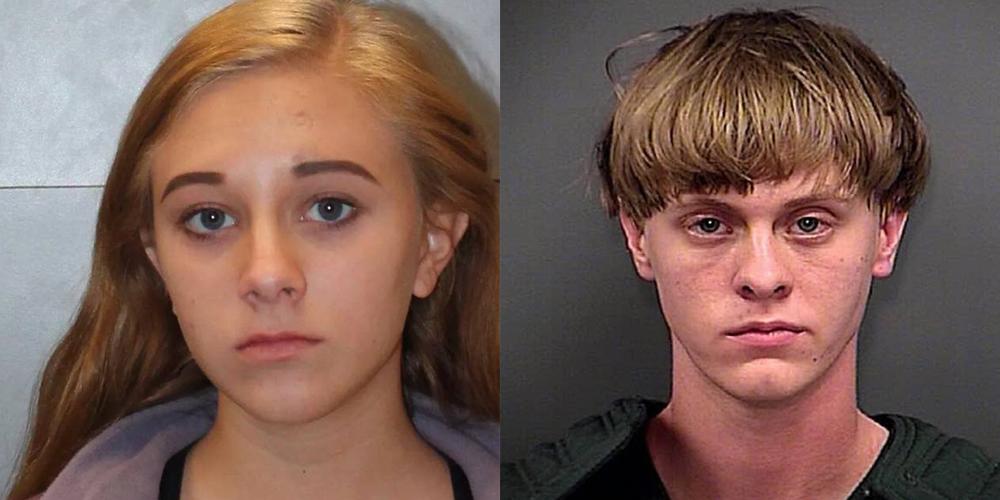 Morgan Roof Dylann Roof S Sister Arrested For Bringing