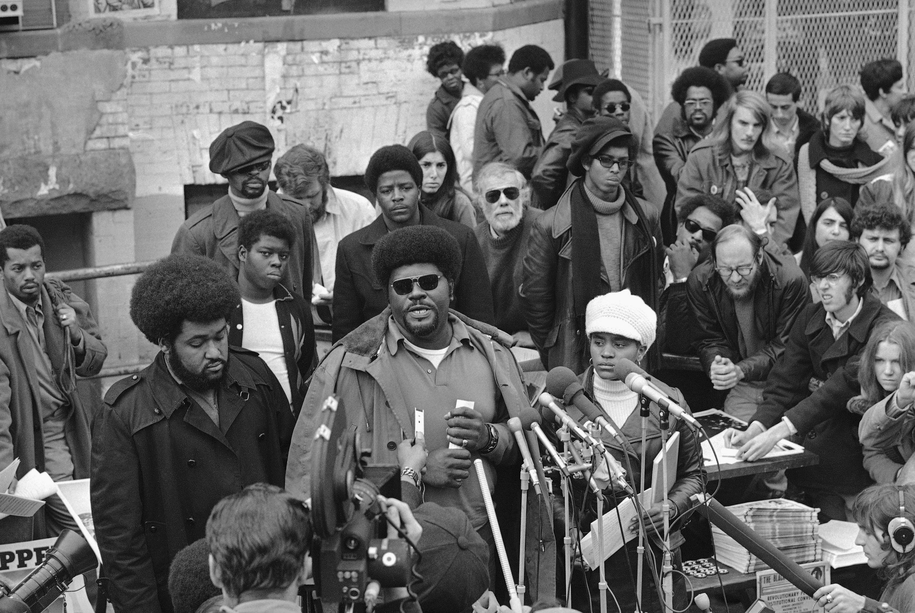 "Black Panther Party Co-Founder Elbert ""Big Man"" Howard ..."